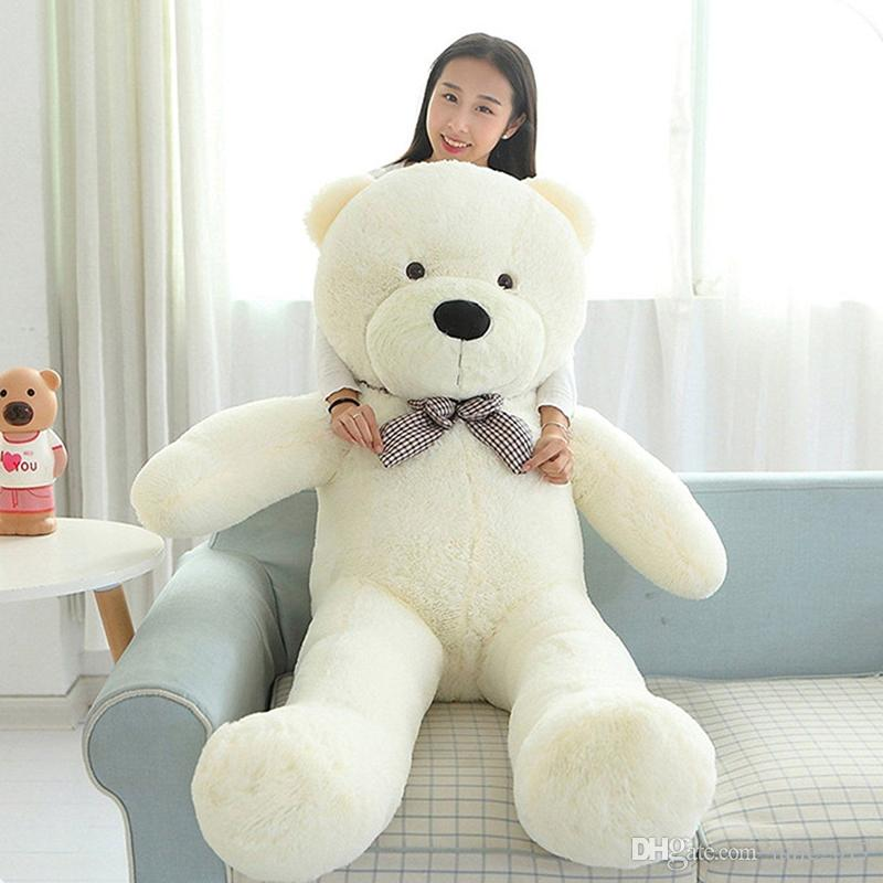 NEW Giant Pure White Teddy Bear Large for Kids Stuffed Animal Soft Plush Toy