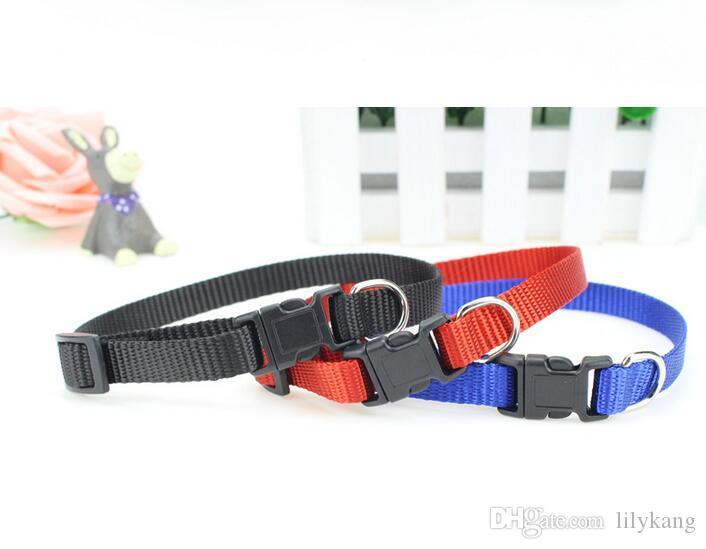 Pet Colliers harnais de cou animal Laisses décoratif chien animaux doux et le cou chat chaîne collier Couper animaux chiots Animaux Colliers