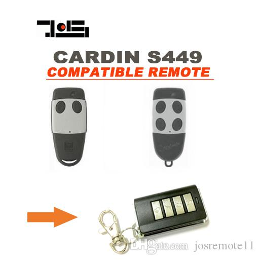 Wireless Garage Door Opener For Cardin S449 Remote Control