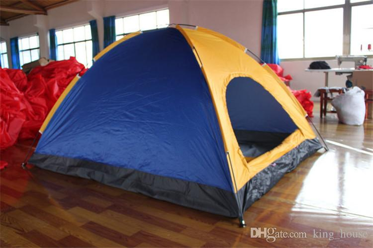 Hiking Camping Tents Construction Based on Need Outdoors Gear Shelters UV Protection Beach Travel Lawn Park Home 5-8 Persons Tent DHL/Fedex