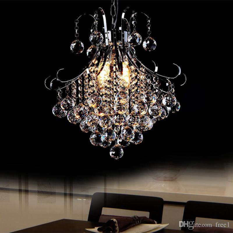 Großhandel Mode LED Kristall Kronleuchter Lampe Wohnzimmer Lampe ...