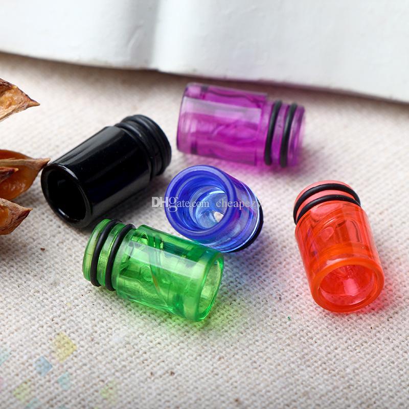 Goutte à goutte en spirale colorée EGo AIO 510 Pointe à goutte en spirale hélicoïdale Pointe de la meilleure qualité E Cigarette Embout buccal 6 couleurs DHL gratuit