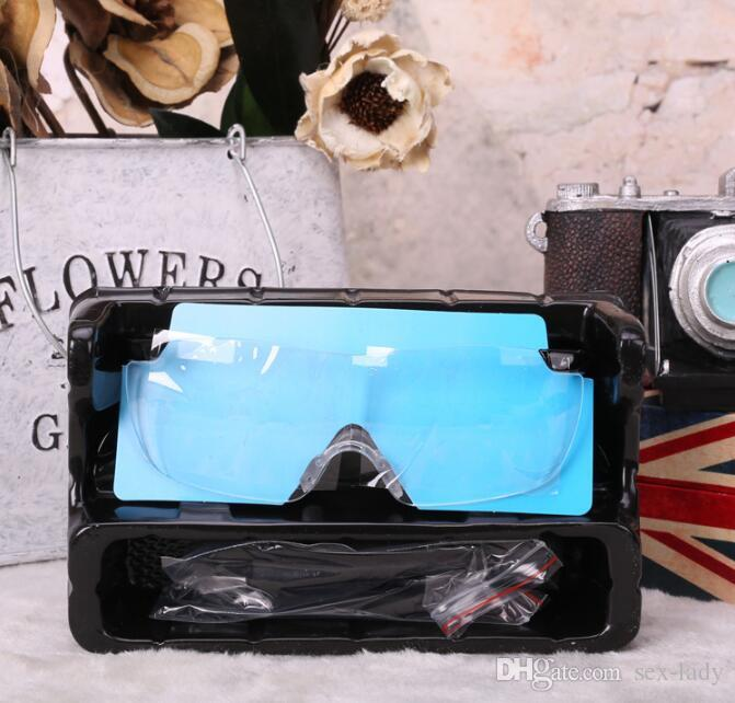 Factory Cheap Wholesale New Big Vision Magnifying Eyewear Glasses See 160% More Better magnifying loupe glasses