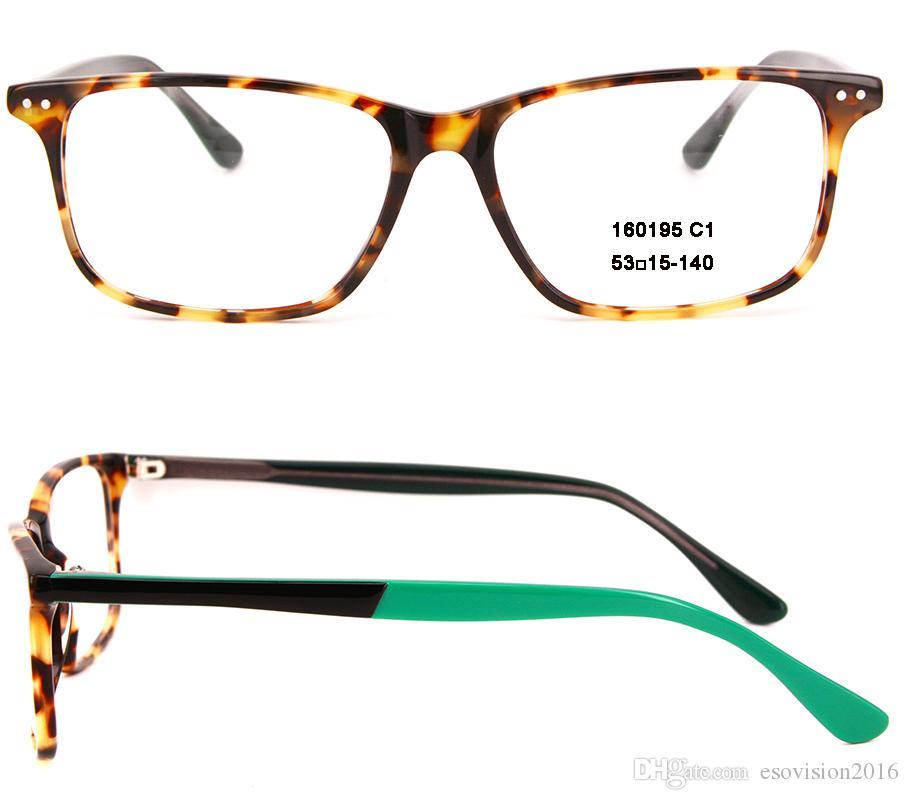 e5ce137019d New Arrival Fashion Women Men Rectangle Eyeglasses Frames Designer ...