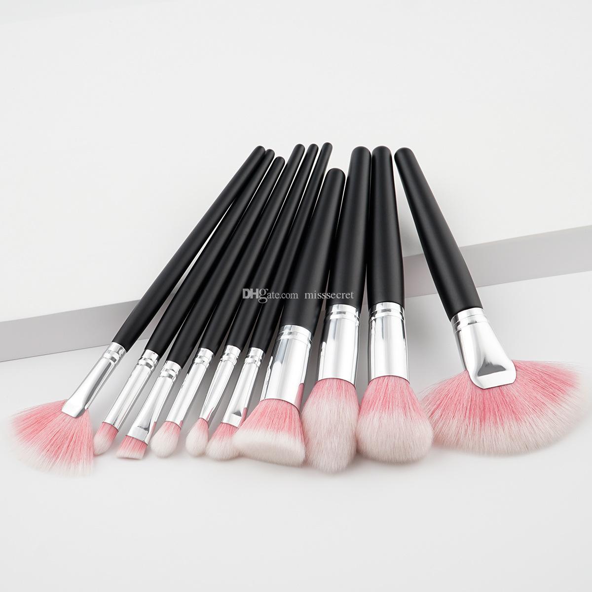 New Kabuki Brush Set Professional Makeup Brushes Tools Sets Make Up Brushes Full Cosmetic Brush Eyeshadow Lip Face Powder Brush Kit
