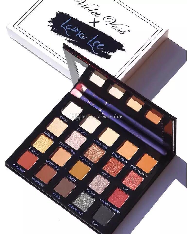 Newest Violet Voss X Laura Lee Pro Eye Shadow Palette Refor Eyeshadow Top Quality Eyeshadow Base