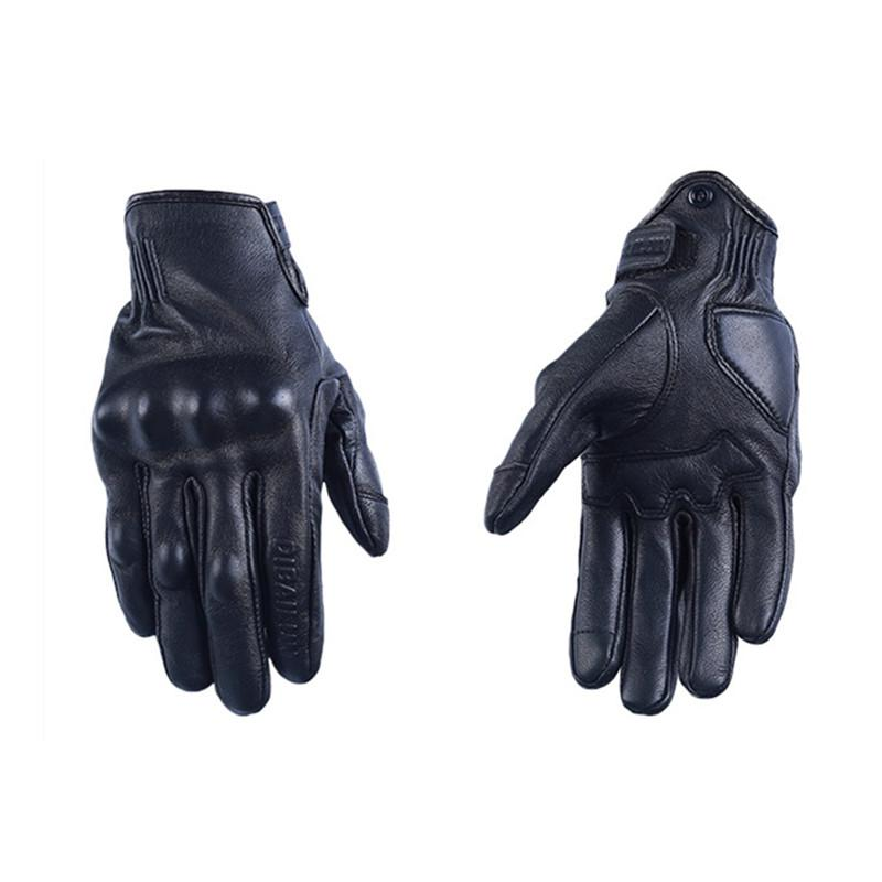 d530eb6532c3f Wholesale Men Motorcycle Gloves Woman Leather Motocross Gloves Summer  Perforated Cycling Racing Luvas Touch Screen Motorbike Moto Guantes Ladies  Motorcycle ...