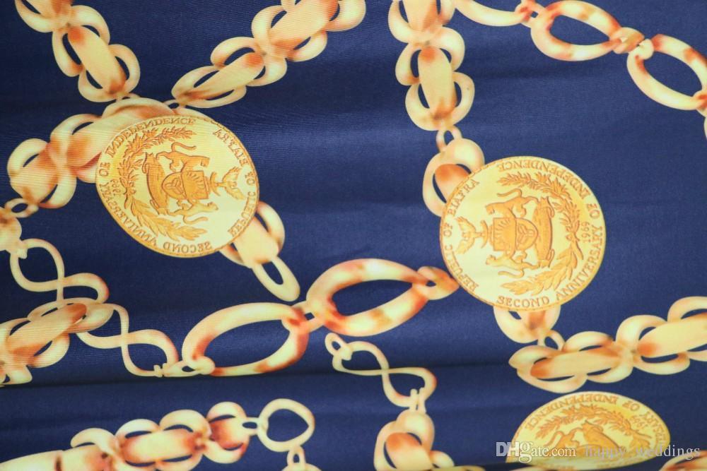 Sıcak Satış Yeni Moda Tasarımı Geleneksel Afrika Giyim Baskı Dashiki Kadınlar için Güzel Boyun Afrika Elbiseler K8155