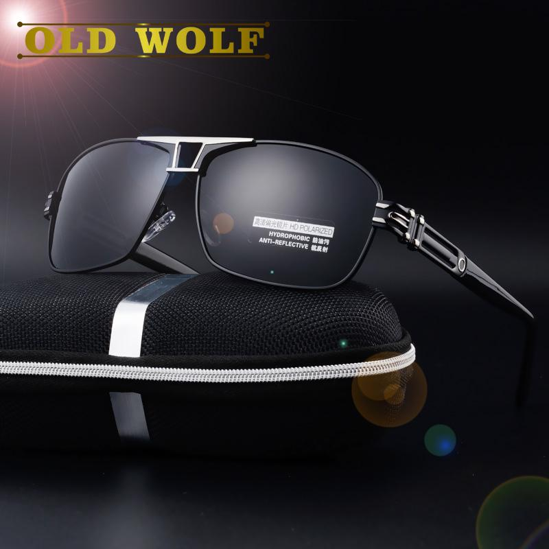 0b9a03f3c14 Wholesale- Porschie Design New Men s Polarized Driving Sunglasses HD ...