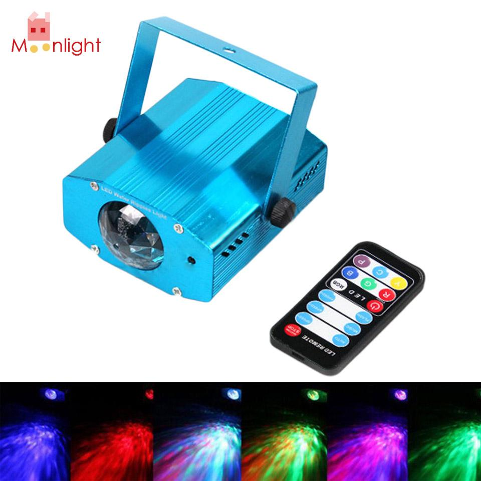 Wholesale BEST Pro DJ Stage Light 360 Degree 9W Mini LED RGP Ripple Effect  Party DJ Club Stage Laser Projector Light Remote Lights Of America Grow  Light ...
