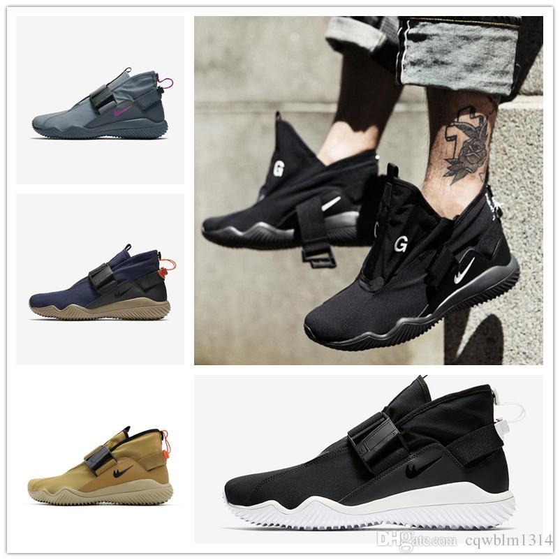 ACG 07 KMTR Shoes 2017 New Fashion Men Women Mid Triple Black White Golden  Beige Cool Grey Magnetic Buckle Waterproof Sneakers Size 36-45 ACG 07 KMTR  Black ...