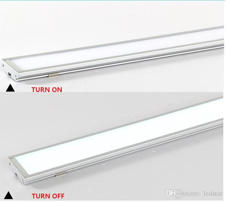 Ultra thin LED Panel Light 4ft 1200mm 25W batten Tube shaped surface mounted led ceiling lamp High brightness 2000Lm Downlights AC 85-265V