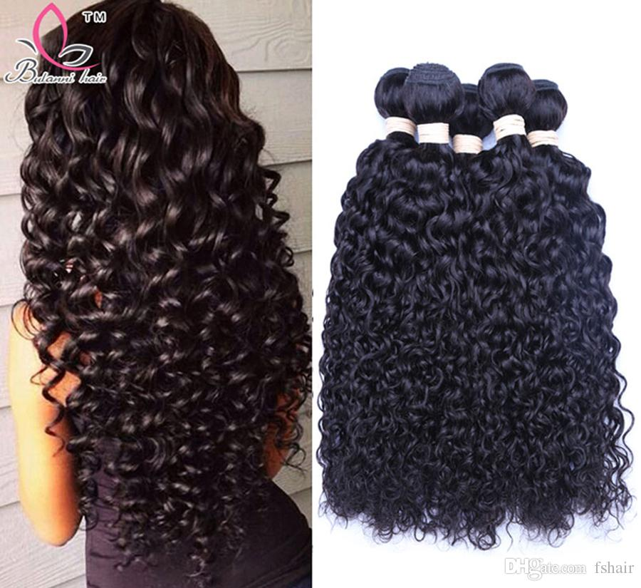 High Quality Hair Weave Silky Straight Deep Wave Curly Fiber Natural