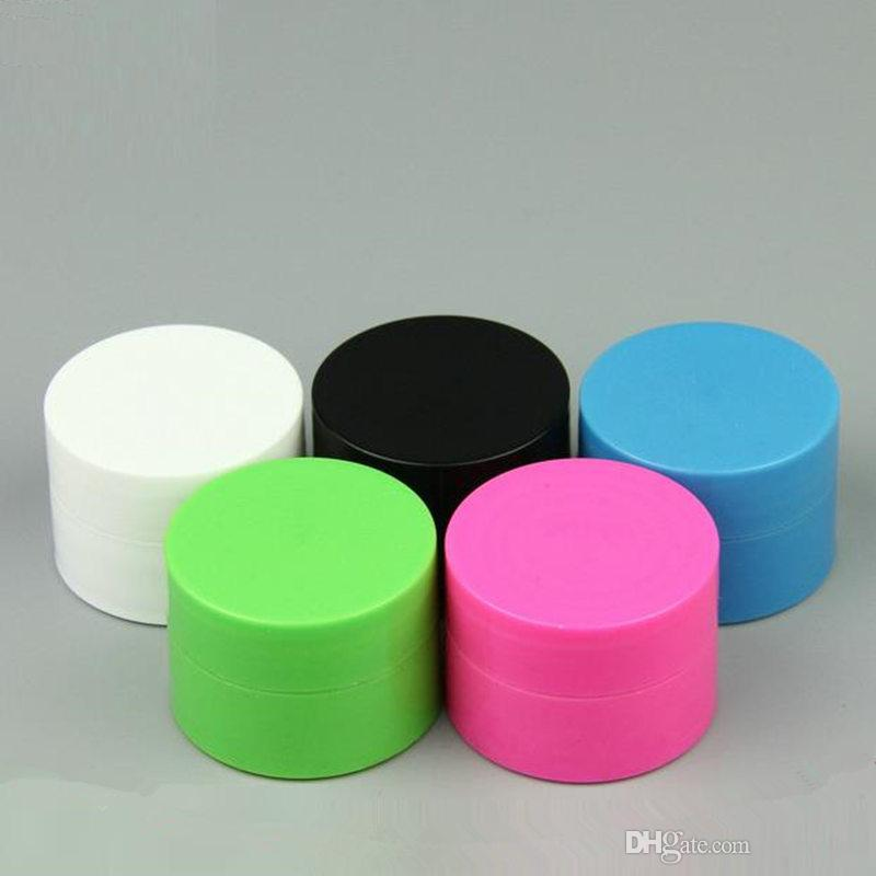 5g 10g PP Plastic Cream Jar Small Cosmetic Powder Container for Beauty Cosmetics Sample Packaging fast shipping F2017877