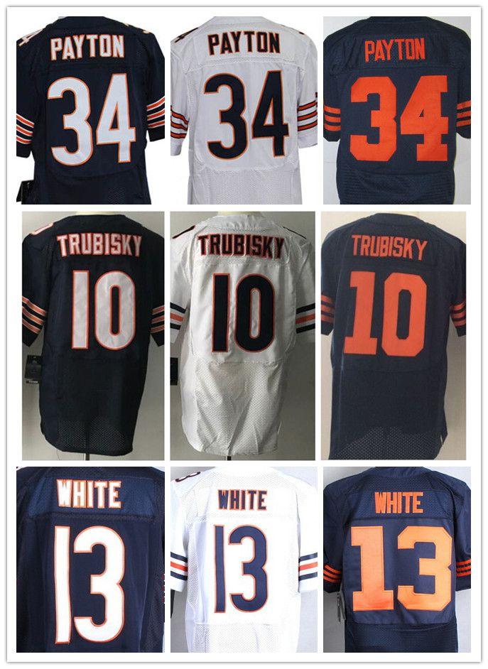 77c8682d7745 get nike chicago bears 10 mitchell trubisky navy blue vapor untouchable nfl  elite jersey 6c49f 880fd  official store satn al erkekler chicago bears  elite ...