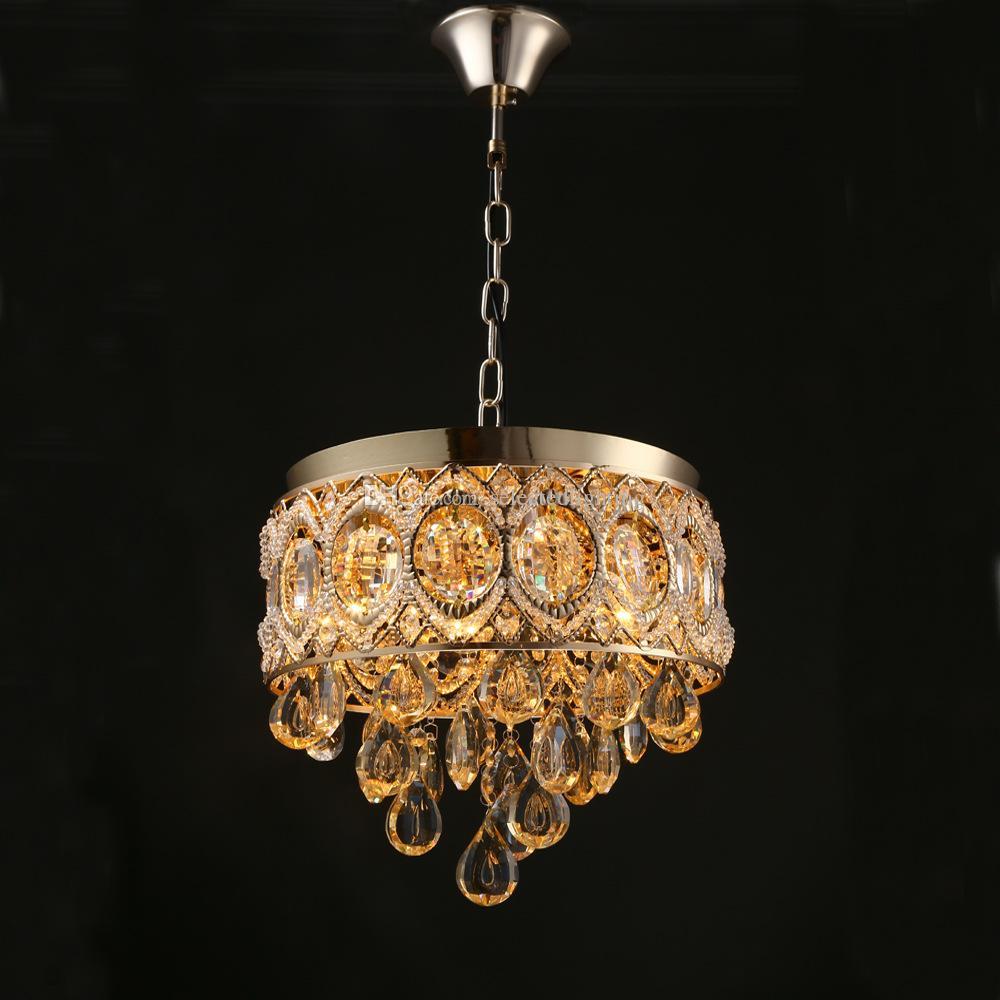 Vintage K9 Crystal Chandelier Traditional Gold Chandelier Lighting ...
