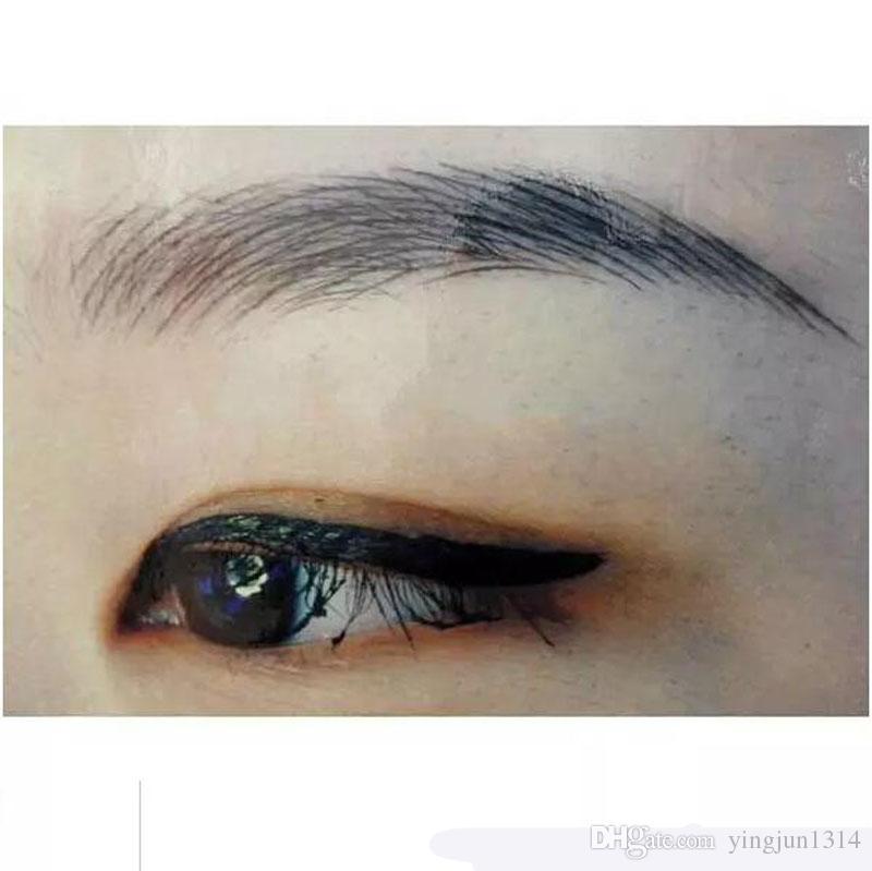 Chaude argent professionnel permanent maquillage stylo 3D broderie maquillage manuel stylo tatouage sourcil microblade livraison gratuite