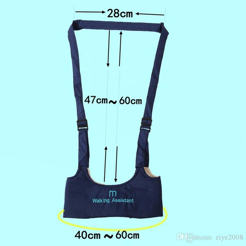 Exercise Safe Keeper Baby Care Adjustable Learning Walking Harness Basket Type Stick Sling Boy Girsl Infant Aid Baby Walking Wings Belt