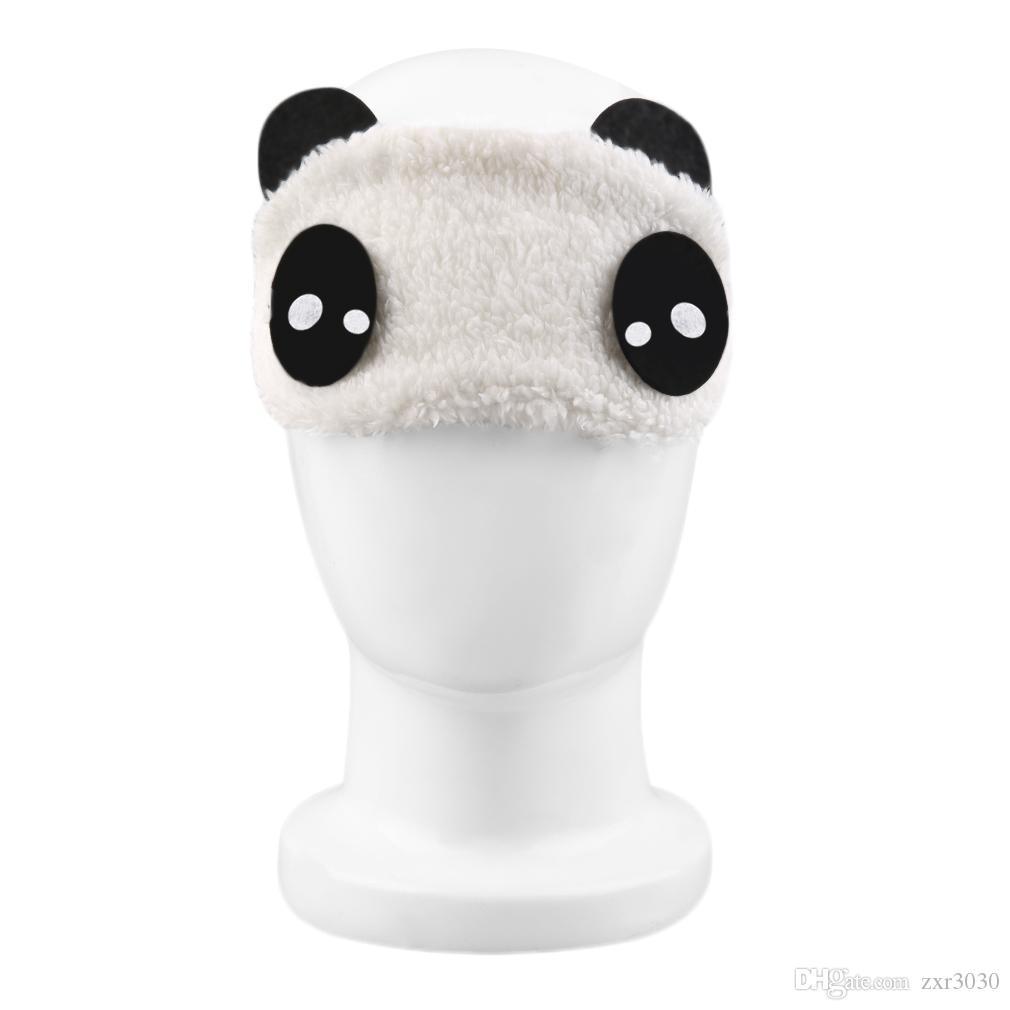 Panda Masque Yeux Voyage Sommeil Aide Sommeil Amour Bandeau Doux élastique reste