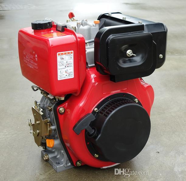 WSE 173F 240cc 5hp kleine luftgekühlte 4-Takt-Dieselmotor, tragbare Motor für Wasserpumpe / Generator und Bauernhof Pinne