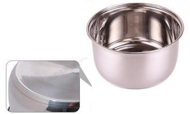 5L Reiskocher aus rostfreiem Stahl nicht kleben Innentopf Reiskocher Topf Hardware Küchengerät Zubehörteile von Hardware Eis barrels