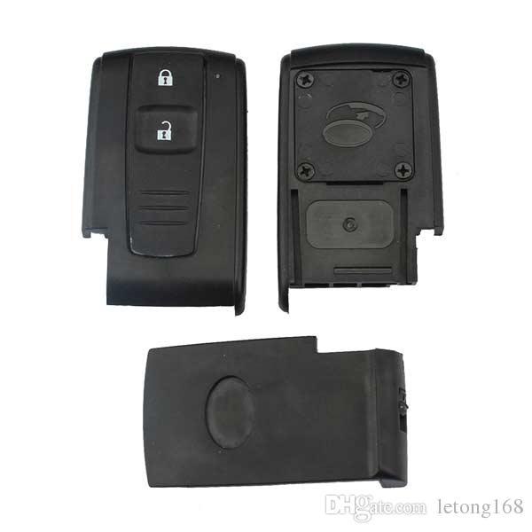 Garantiert 100% 2 Tasten Auto Smart Remote Key Keyless Entry Fall Shell für Toyota Prius Fob Kostenloser Versand