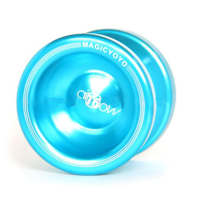 High-speed bearing YOYO Magic Yo-yo N12 SHARK HONOR String Trick Deep Blue Aluminum TY