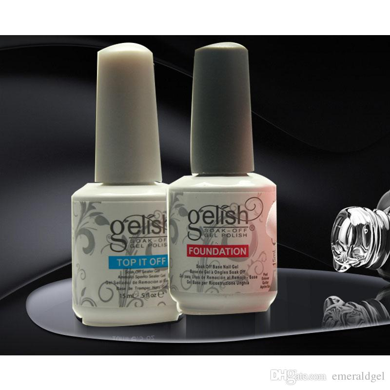 Harmony Gelish Nail Polish Structure Gel Soak Off Clear Nail Gel Top