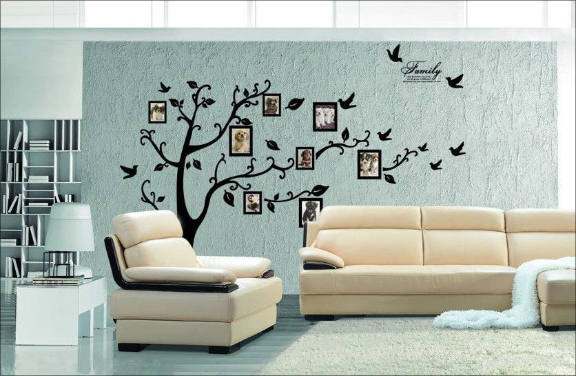 Hot Sale Foreign Trade Wall Beautiful Photos Photo Decorative Wallpaper Tree Living Room Bedroom Stickers Decals