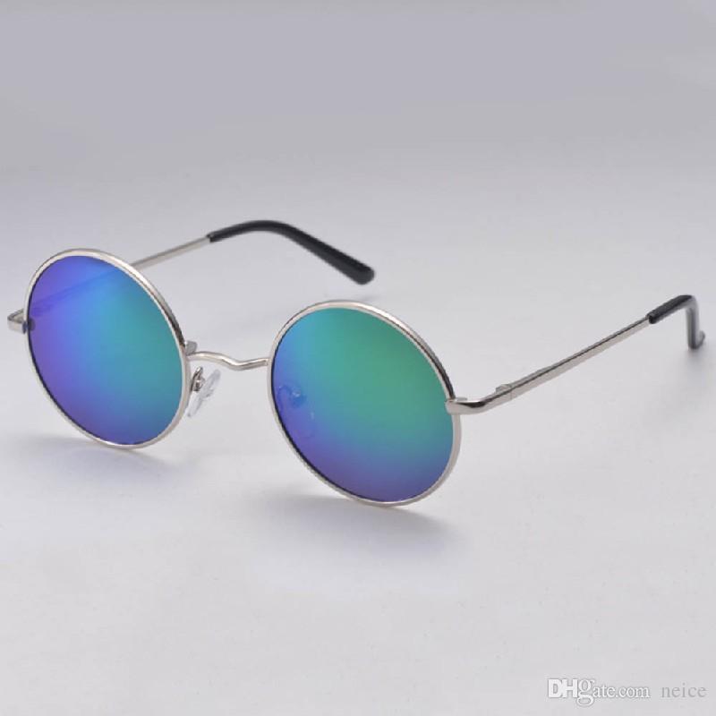2017 Brand Designer Vintage Sun Glasses Retro Round Sunglasses Women ...