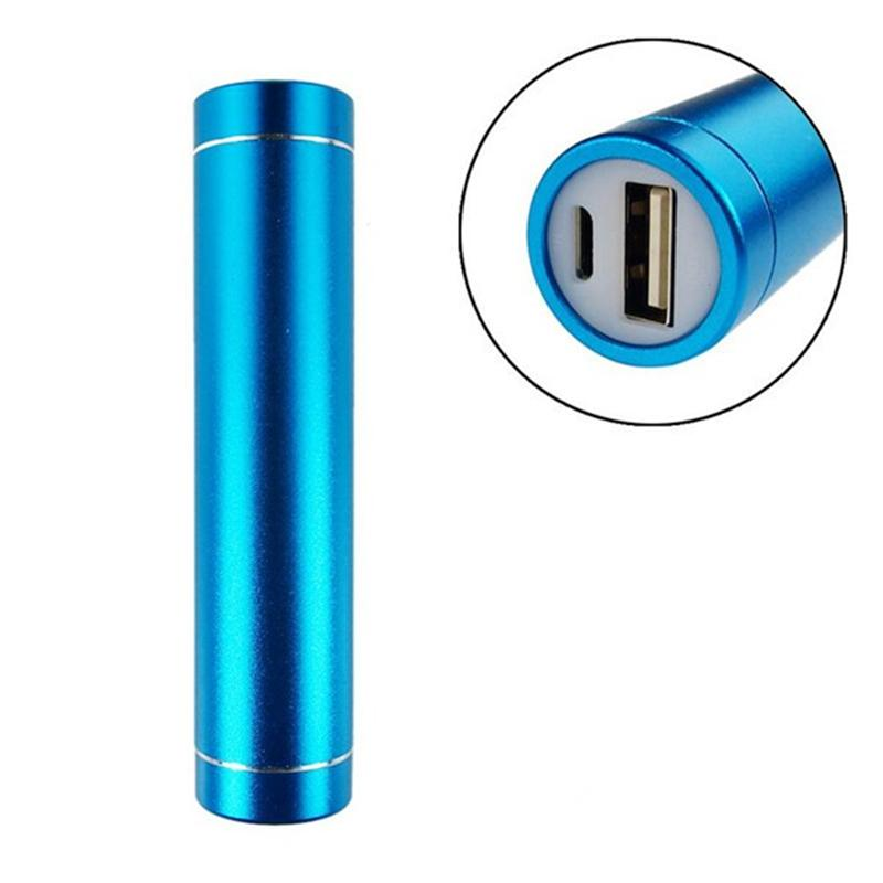 Cheap Power Bank Portable 2600mAh Cylinder PowerBank External Backup Battery Charger Emergency Power Pack Chargers for all Mobile Phones