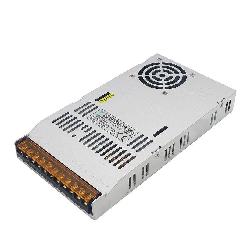 LED LCD Display Moniteur DC5V 60A 110V Commutateur 220V 300W Alimentation à découpage Adaptateur conducteur Transformateur