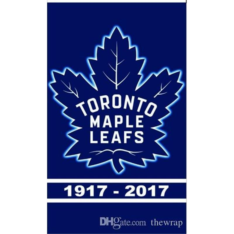 9dadc41d9c5 2019 150 90CM Toronto Maple Leafs Flag Stanley Cup Champions Flags Hockey  Football Baseball Team Outdoor Banner National Polyester 3 5 FT Banner From  Thefan ...