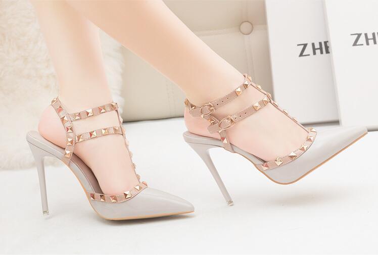 c2a85d97d32c Brand Womens Shoes Pumps 10CM High Heels Wedding Shoes Woman High ...