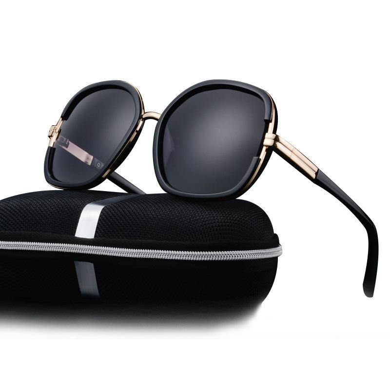 Compre Nuevas Gafas De Sol Del Diseñador De La Marca De La Explosión Para  La Moda De Las Mujeres Sun Gafas De Sol Polarizadas De Alta Calidad Con Las  Gafas ... 2643f688954f