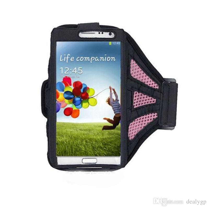 Waterproof Workout Running Armband Case Gym Sports Arm Band Cell Phone Cover Bag Pouch with Key Holder for Huawei P9 Mate 9 P8