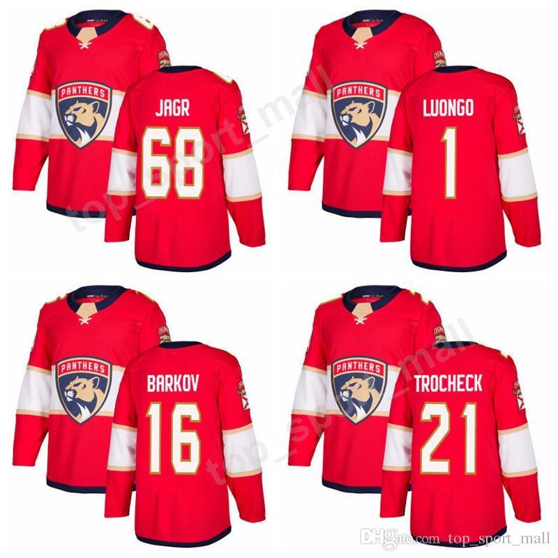 093bd3c8a92 Florida Panthers 68 Jaromir Jagr Jerseys Men Custom Ice Hockey 1 ...