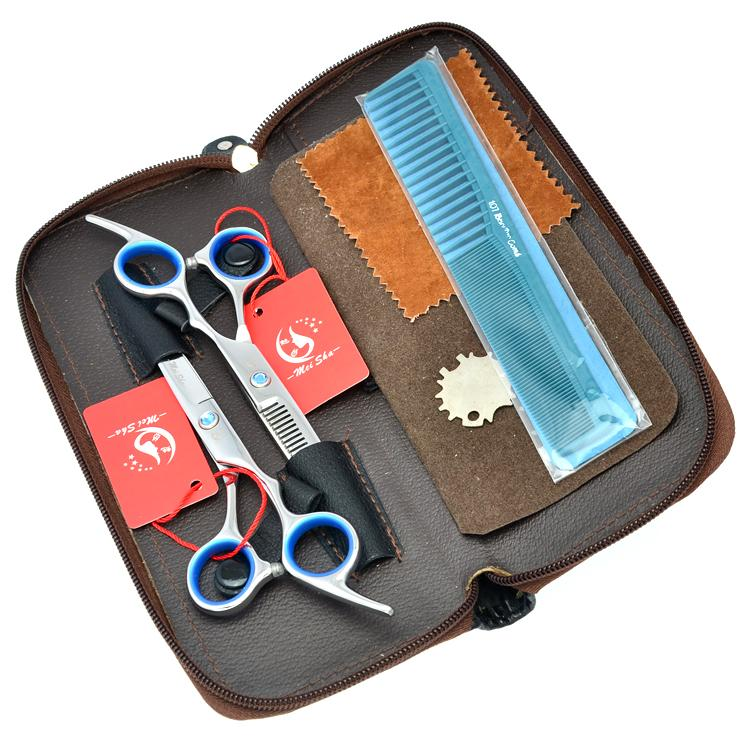 6.0Inch Meisha Salon Shop Hair Scissors Kits JP440C Hair Cutting Scissors Thinning Shears Barber Hairdressing Styling Salon, HA0107