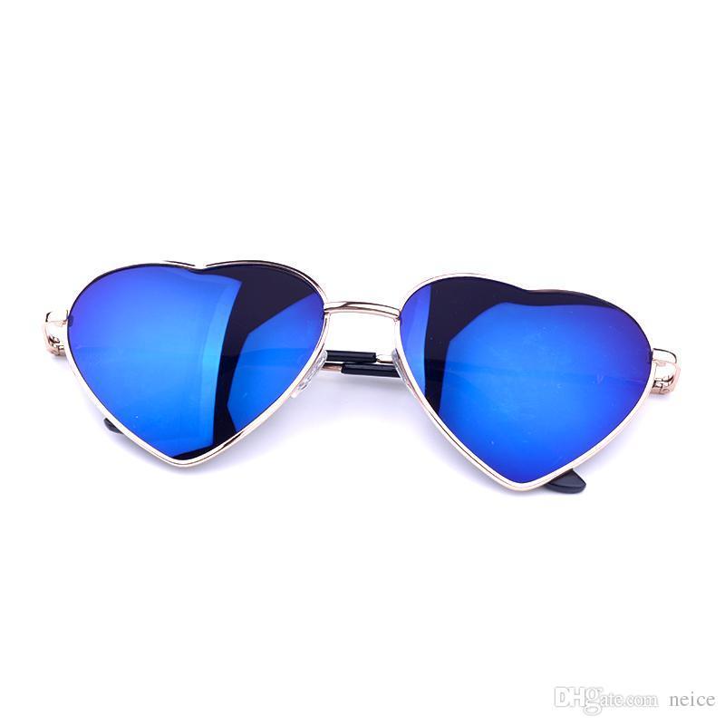 Großhandel Neue Frauen Herz Geformte Entwurfs Sonnenbrille ...