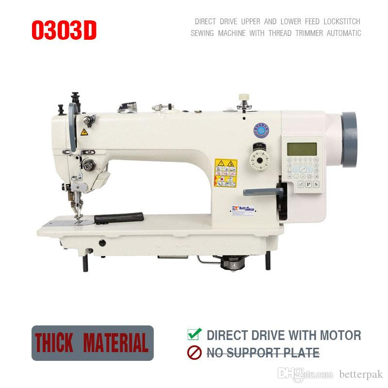 40 40D Direct Drive Industrial Sewing Machine FurLeatherFell Stunning Industrial Sewing Machine For Leather