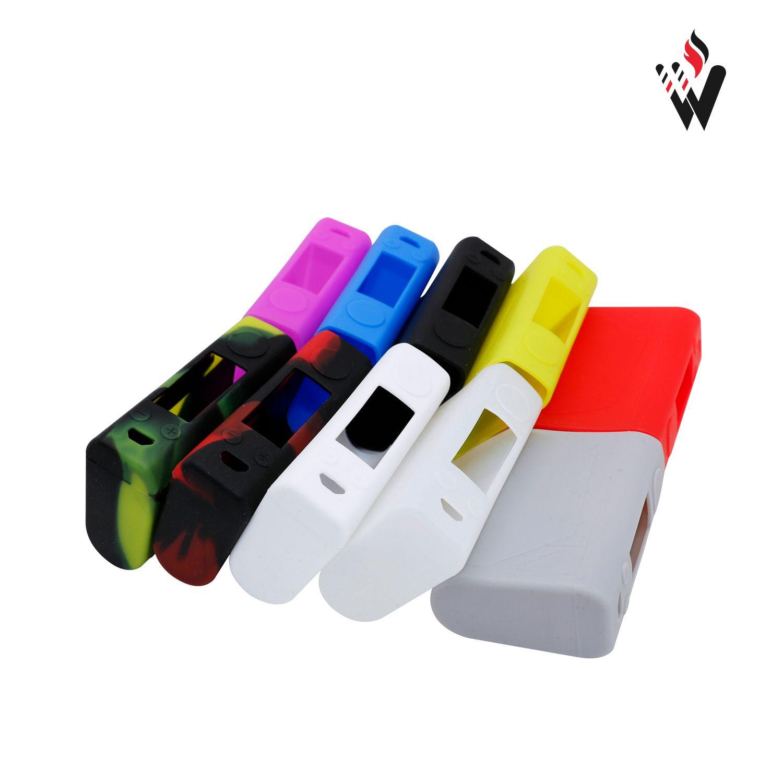Evic VT mini Case Silicone Cases Bag Colorful Rubber Sleeve Protective Cover Silica Skin For Evic VTC Mini 60W TC Box Mod