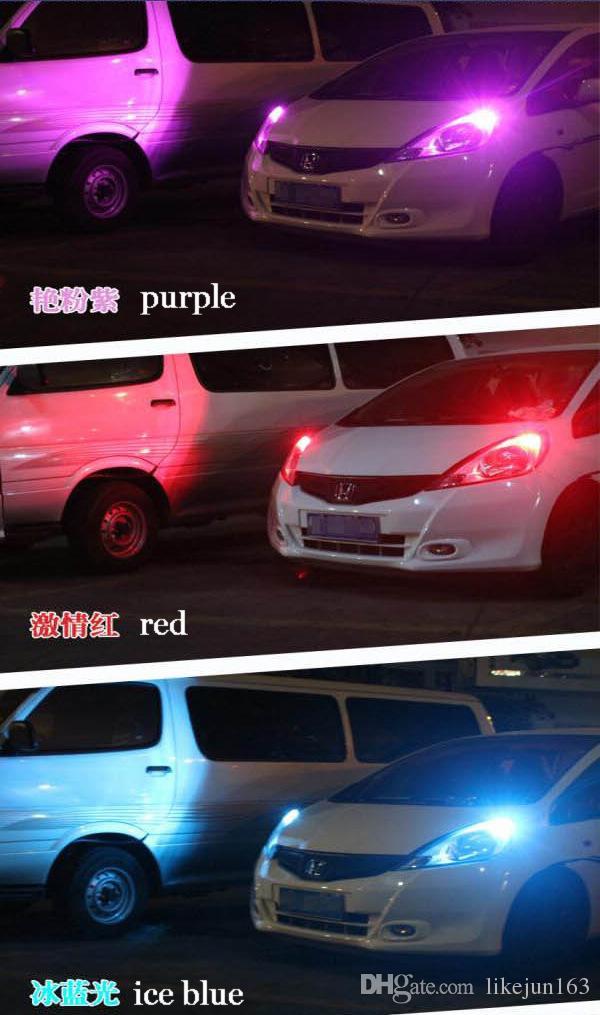 Kalite araba led ışıkları CANBUS T10 6led 5630smd hiçbir OBD hata oluşumu araba yan kama kuyruk işık lambası plaka ampul