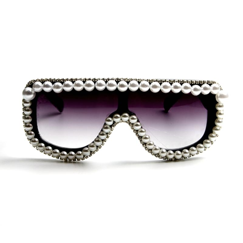 Wholesale Luxury Sunglasses Women Bling Rhinestone Steampunk ...