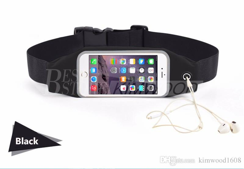 Waterproof Running Sport Waist Belt Pouch Reflective elastic Adjustable Band Breathable Waist Mobile phone Bag For iPhone Android Smartphone