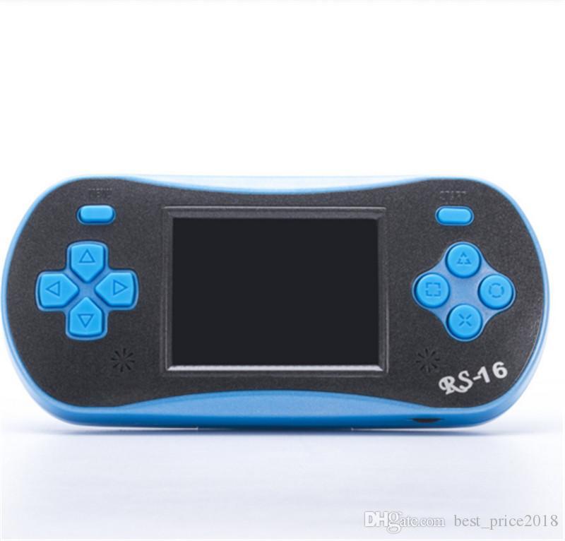 2017 RS-16 Consoles Mini lecteur Mini Jeu Portable Hot Enfants enfants jouets 260 Jeux Clasic TV Out gratuit DHL