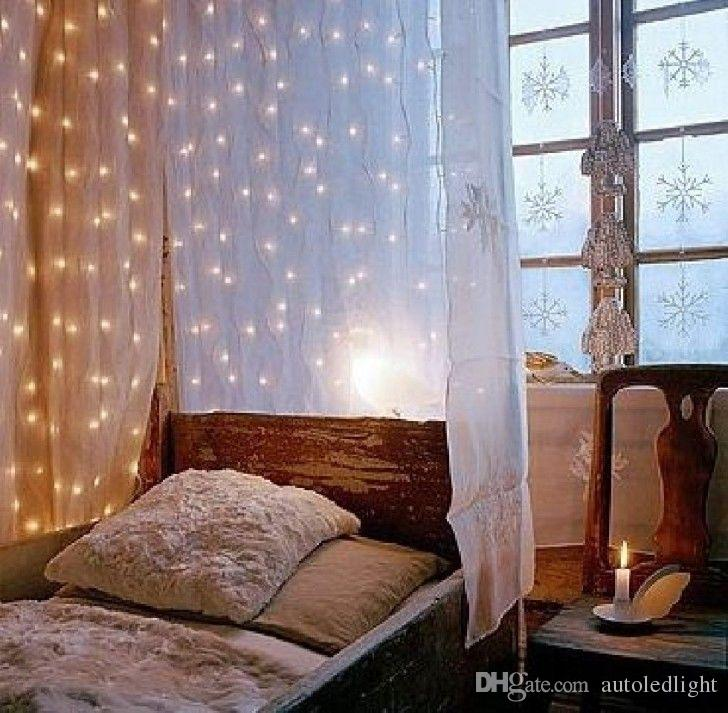 300 LED Lights Wedding Christmas String Birthday Party Outdoor Home Warm White Decorative Fairy Curtain Garlands
