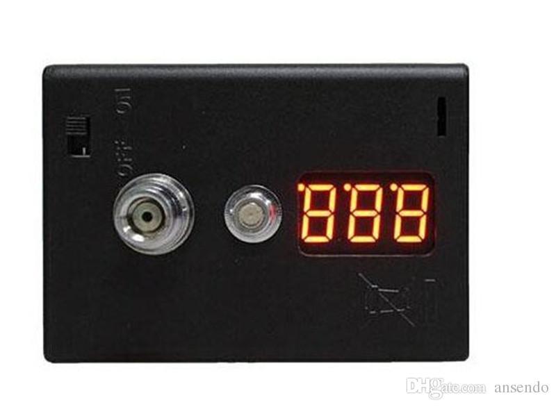 Vape e-cigarette Resistance Tester ohmio Medidor 510 roscado para cualquier atomizador vaporizador y batería Cigarette Accessories