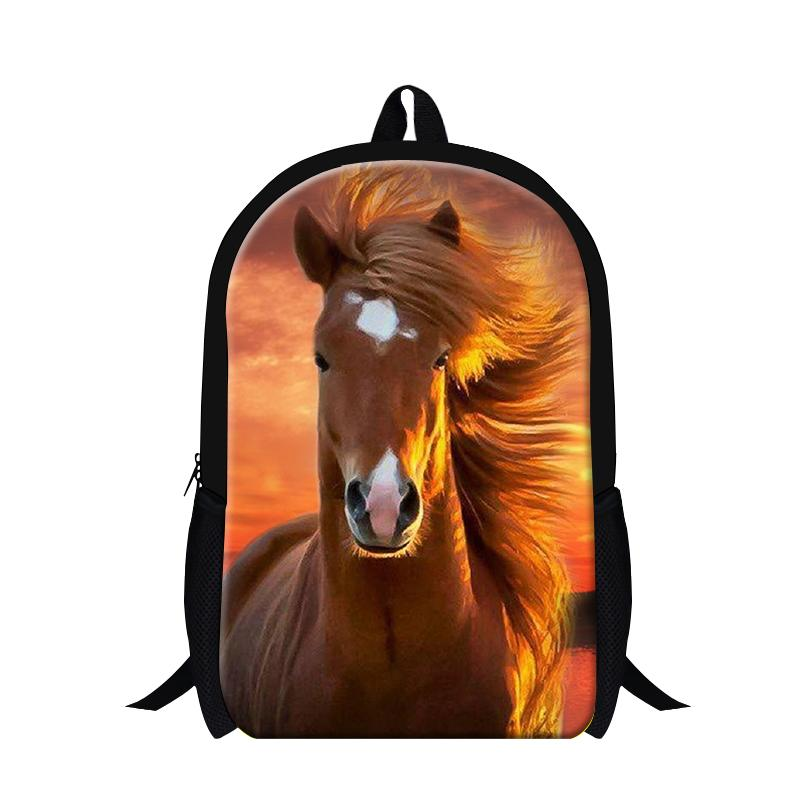 5631ab7e50b Wholesale Designer Plush Horse Backpacks For Teens,Runing Horse Animal Back  Pack For Men,Children S School Bag Bookbags,Stylish Backpacks Swiss Gear ...