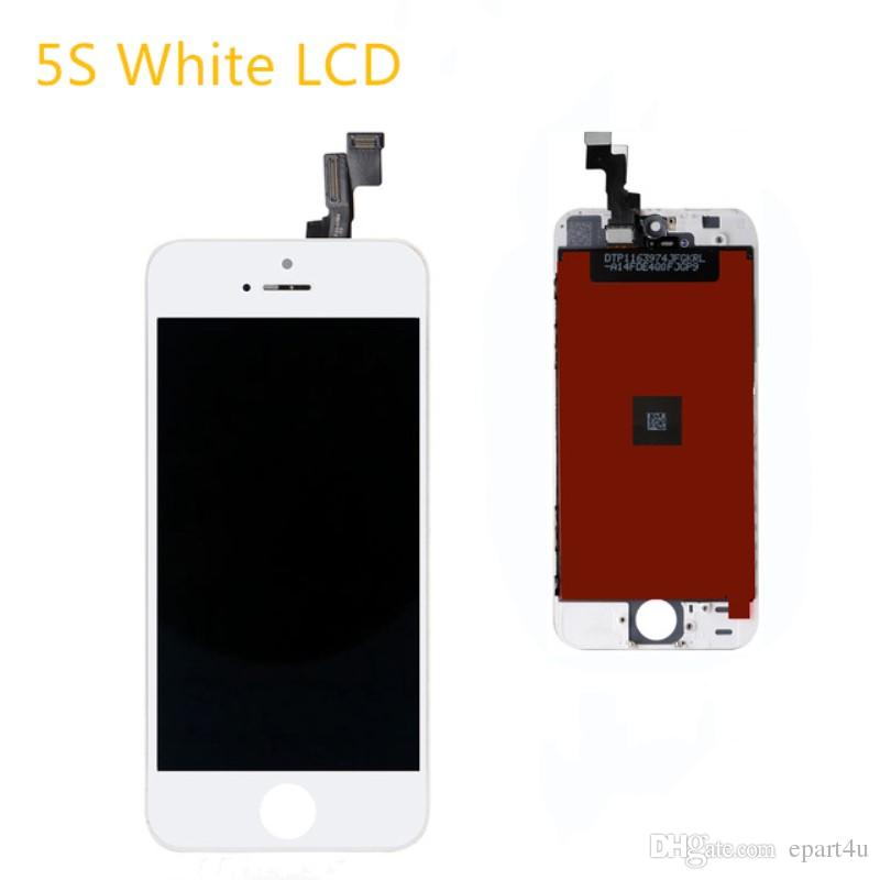 AAA LCD For IPhone 5S Screen Touch Screen Digitizer Assembly Replacement  Pantalla LCD Display Mobile Phone Parts White UK 2019 From Epart4u db1ad51a23