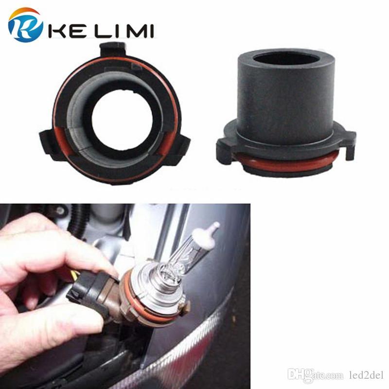 Car H7 Xenon HID Head Bulb Conversion Holder Adapters Base ...